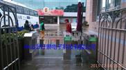 HJ-B13超市圆柱摆闸-中山三辊闸厂家-地铁刷卡闸机安装,香洲小区门禁翼闸