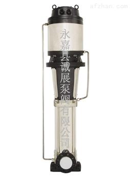 诚展泵阀牌零售、批发CDLF-JY水冷静音多级离心泵