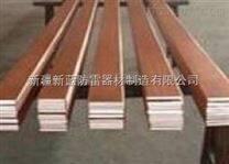 甘肃兰州酒泉青海风电专用40x4mm铜包钢扁钢价格
