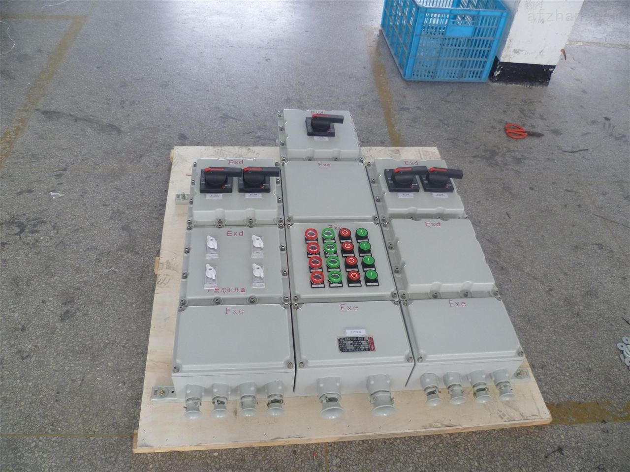 厂用防爆应急照明配电箱价格/bxm(d)-4k