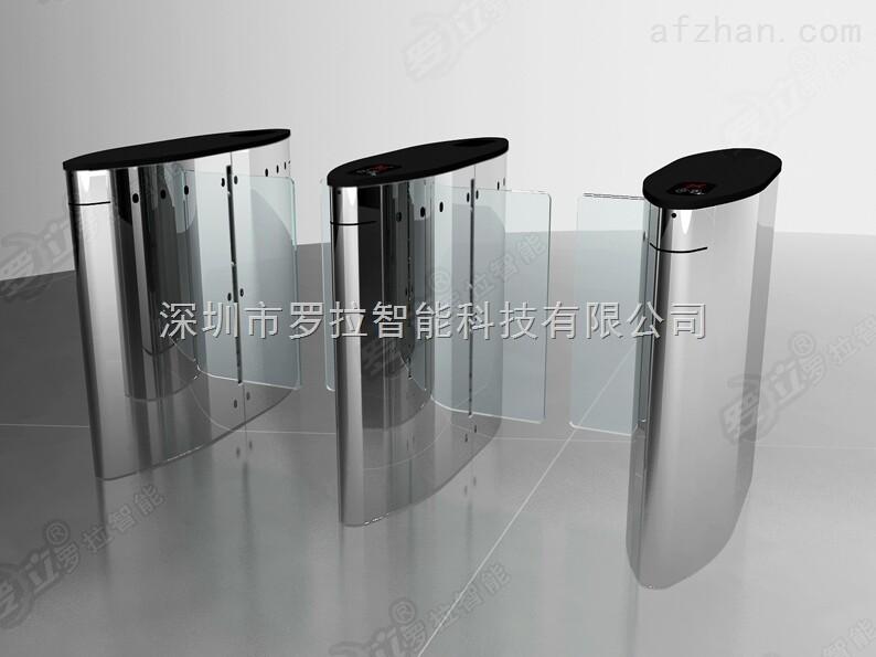 深圳桥式豪华尖角圆弧平移闸