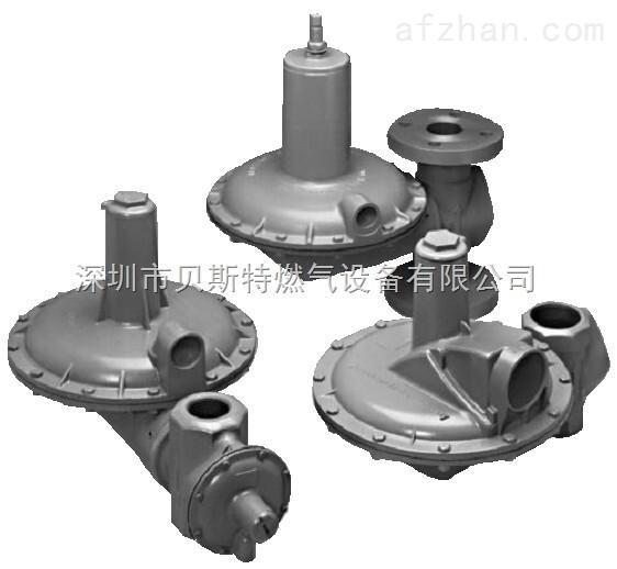 主要型号有1200B、CR4000、1213B2、1800B2、1813B2、1800C、1800CPB2、1803、1813B、2000、AFV、RFV等多款调压器,美国AMCO燃气调压器广泛适用于小型及中型调压站、燃气管道调压使用,与燃烧机配套更佳,具有外观精美、细致, 调压精确、稳定,价格比美国FISHER、意大利TARTARINT更优惠,出口范围从280~3400mmwc!