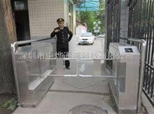 广州电动刷卡通道闸