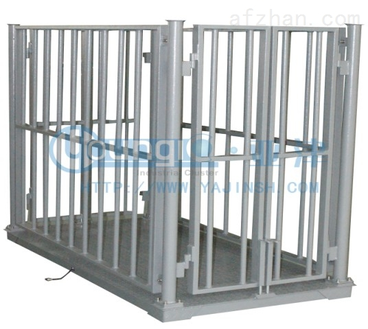 2T碳钢生猪秤SCS-P721-NN-1010牲畜动物地磅秤