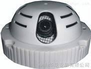 圆形式烟感隐形监控摄像机