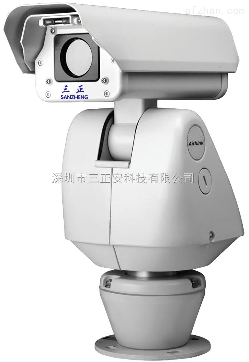 KA-R200W具有电动调节可见光摄像机的二维机构,使可见光和热图像显示场景位置相同,用户可远程遥控调节;另外,机身具有吊装位的独特设计,方便野外高空作业。 集成高速大扭距精密云台,操控灵活,用户可用0.1°/秒至80°/秒的速度,实现水平360°、垂直180°的完全无盲区监视。传输结构特殊设计,云台在高速运转时急停不抖动,有利于迅速看清图像内容并捕捉目标。128个预置点、自动巡航扫描、定时执行用户预定的场景。预置点定位精确,记忆功能可靠,断电不丢失。 整机具有IP66防护