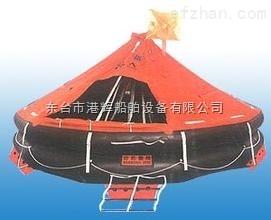 救生设备;自扶正抛投式气胀救生筏