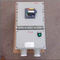 漏电保护防爆断路器