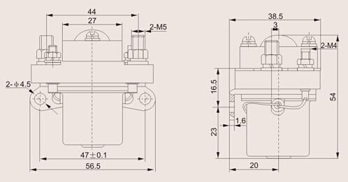 zj50-zj50直流电磁接触器