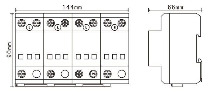 工业厂矿电源电涌保护器|配电站防雷器|配电房防雷
