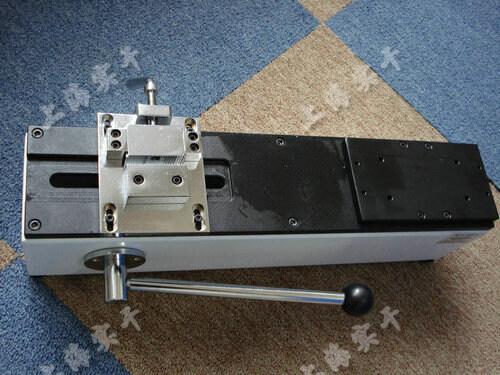 手摇式线束端子拉力机未安装时的图片